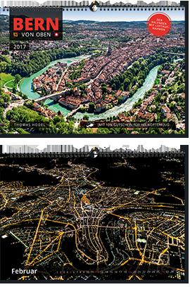 Bern-Kalender, Luftaufnahmen