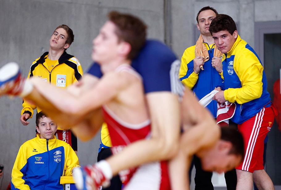 Ringen Schweizermeisterschaft, Fotograf Thomas Hodel