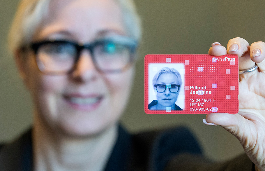 SwissPass SBB, Fotograf Bern, Thomas Hodel