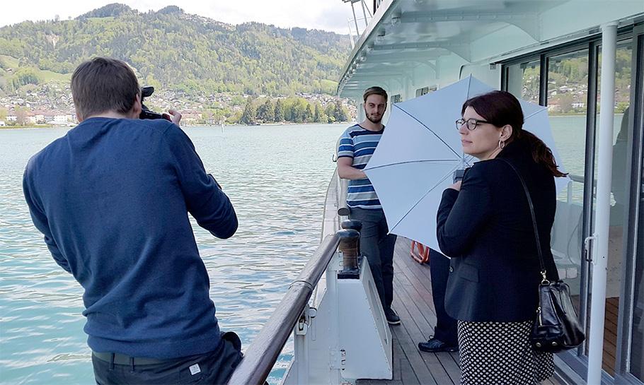 Fotograf Bern, SwissPass, Dampfschiff Blüemlisalp