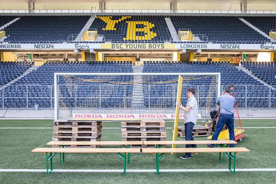 Fotograf Bern, Mannschaftsfoto BSC YB, Thomas Hodel