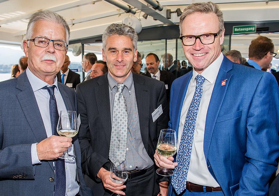 Franz Kagerbauer, Ueli Stückelberger, Andreas Meyer, SBB, ZVV, VöV