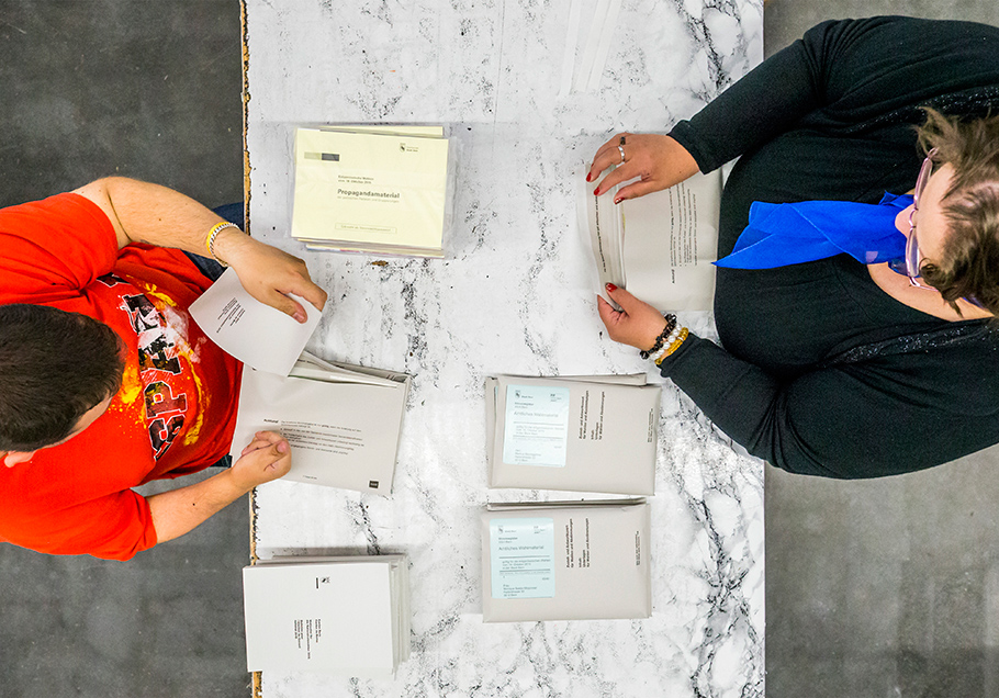Wahlzettel, Fotograf Bern, Thomas Hodel, Rückblick 2015