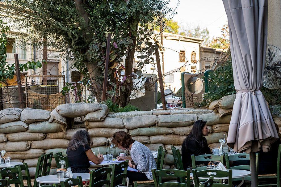 Zypern, Mauer, geteilte Hauptstadt, Nikosia