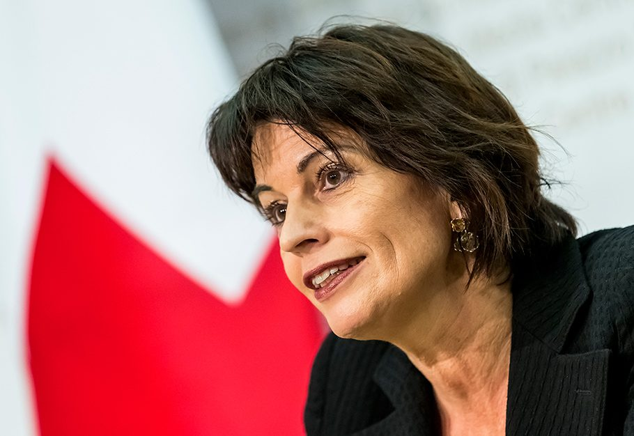 Abstimmungssonntag, Bern, Doris Leuthard