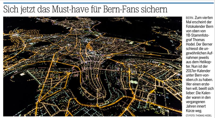 Bern von oben - 20 Minuten