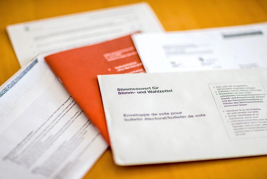 Eidgenössische Volksabstimmungen Schweiz