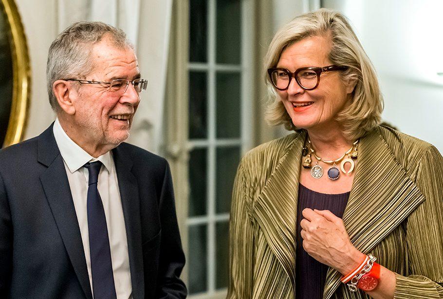 Staatsempfang Bern, Bundespräsident Alexander Van der Bellen