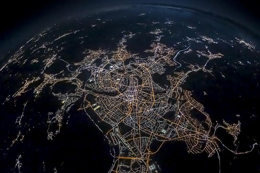 Nachtaufnahme Bern, Thomas Hodel